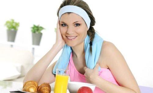 O esporte e a alimentação