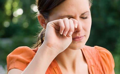Os sintomas de alergia