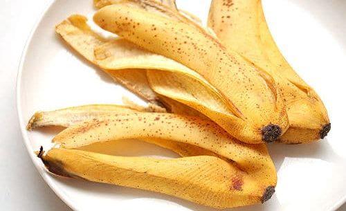 Propriedades da casca de banana