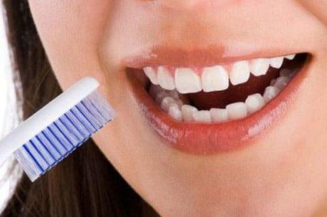 Saúde bucal, gengivas inflamadas