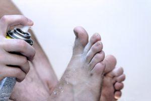 Uma receita caseira para o fungo do pé
