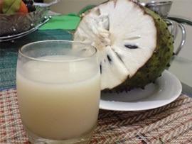 Propriedades do suco de graviola para a saúde