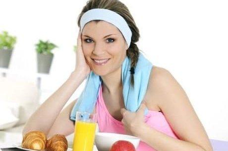 Conselhos alimentares antes de praticar atividade física