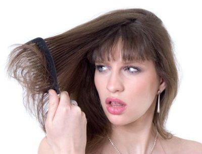 Shampoo para cabelos secos