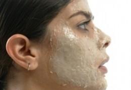 Máscara para evitar o excesso de oleosidade