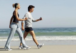 O benefício da caminhada diária