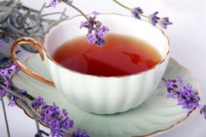 Benefícios do chá de lavanda