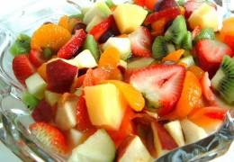 Dieta a base de frutas em 3 dias