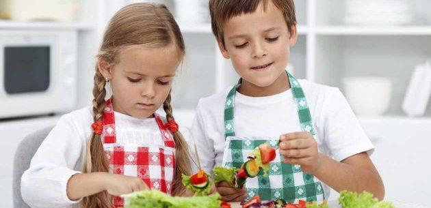 Dieta equilibrada para crianças vegetarianas