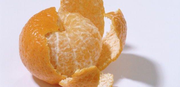 Casca de tangerina para o câncer