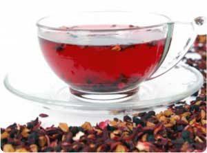 Emagreça com o chá de hibisco