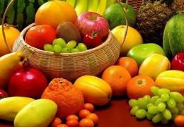 Alimentos para o verão