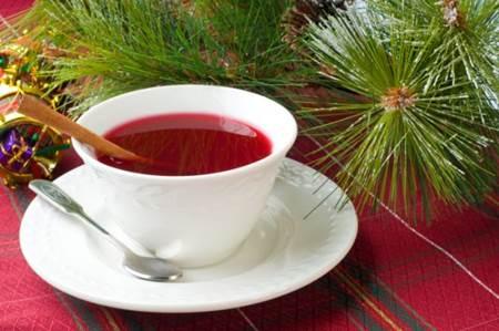 chá vermelho capa