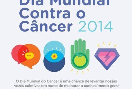 Dia Mundial do Câncer 2014: Um estilo de vida saudável é a chave para a prevenção