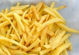 As batatas muito fritas podem acelerar o envelhecimento