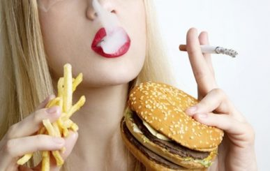 6 maus hábitos para a saúde