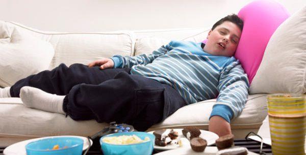 Causas da obesidade infantil