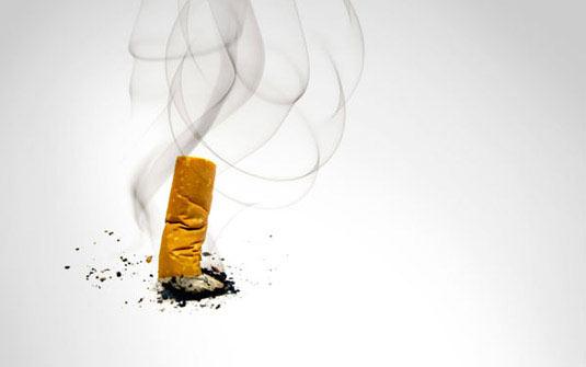 A pressão aumentou quando deixado fumando