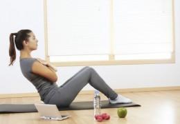 Como fazer exercício sem sair de casa