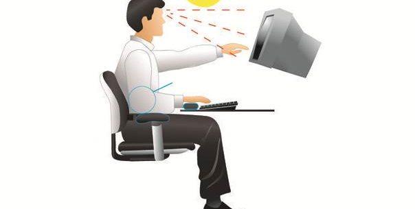3 importantes dicas para melhorar sua postura em frente ao computador