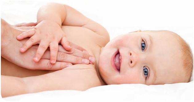 Dicas para aliviar as cólicas dos bebês