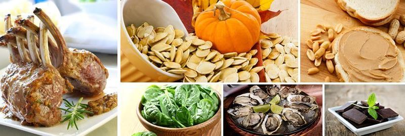 Zinco: 10 alimentos fontes desse importante mineral