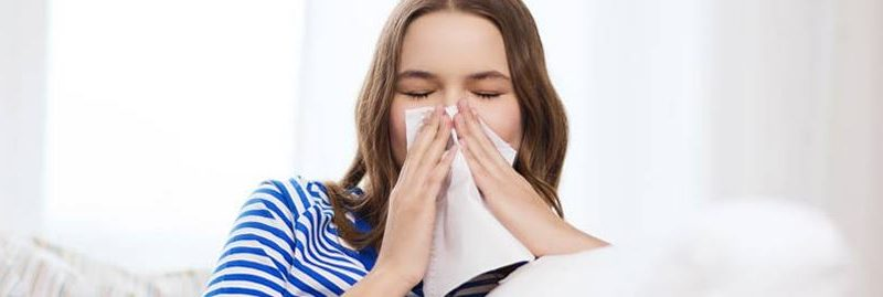 5 formas simples de combater um resfriado alérgico