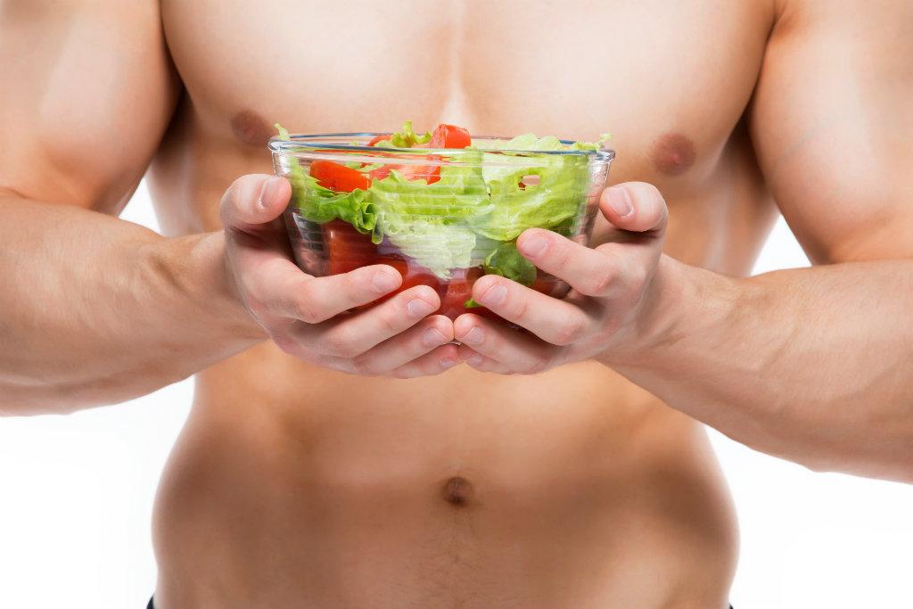 a alimentação é essencial para ganhar massa