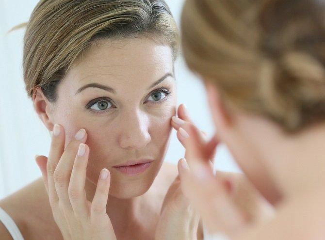 Cloreto de cálcio em cosmetology da pessoa
