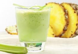 Suco de abacaxi com aipo para emagrecer