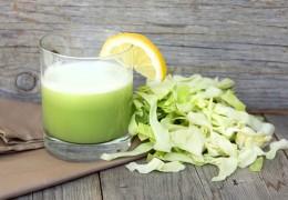 Receita e benefícios do suco de repolho para a saúde