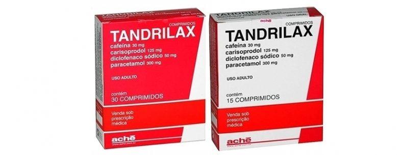 Para que serve o Tandrilax e quais seus efeitos colaterais