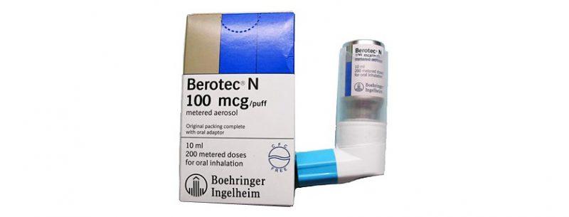 Como usar Berotec para problemas respiratórios e contraindicações