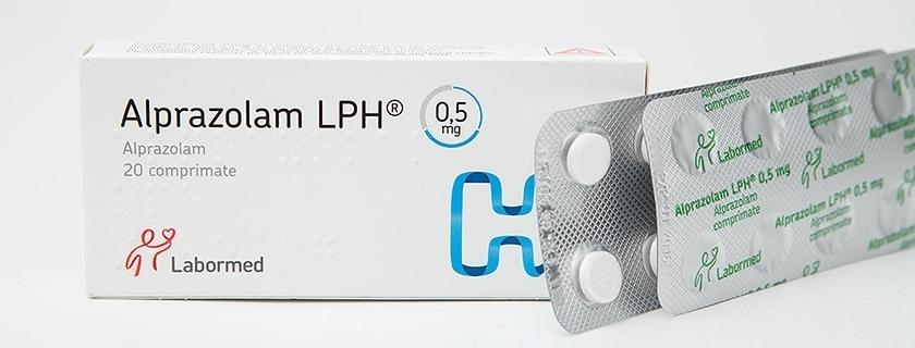 alprazolam duration of use