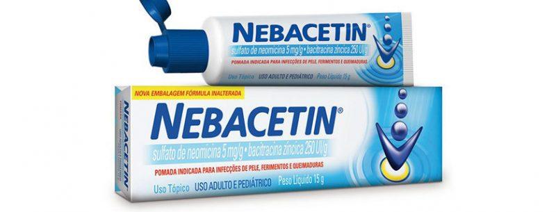 Nebacetin: bula, para que serve, contraindicações e efeitos colaterais