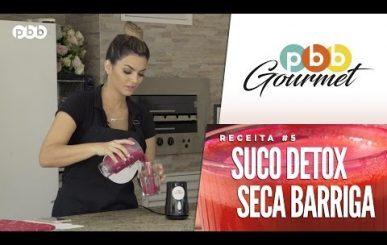 Super receita de suco seca barriga para emagrecer rápido